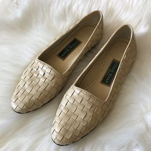 Cole Haan Weaved Leather Loafers